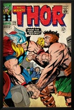 Marvel Comics Retro: The Mighty Thor Comic Book Cover No.126, Hercules (aged) Print