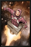 Captain America & The Korvac Saga No.3: Korvac Flying in Space Prints by Craig Rousseau