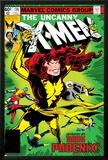 Uncanny X-Men No.135 Cover: Grey, Jean, Colossus, Wolverine, Storm, Cyclops, Dark Phoenix and X-Men Prints by John Byrne