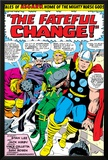 Marvel Comics Retro: Mighty Thor Comic Panel, Tales of Asgard, the Fateful Change! Poster