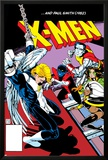 Classic X-Men No.24: Storm, Angel, Shadowcat and Colossus Prints by Paul Smith