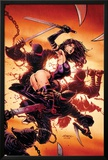 Psylocke No.2 Cover: Psylocke Posters by David Finch
