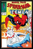 Marvel Tales: Spider-Man No.227 Cover: Spider-Man and Iceman Fighting Photo by Todd McFarlane