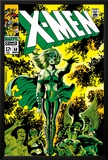 X-Men No.51 Cover: Dane, Lorna and X-Men Print by Jim Steranko
