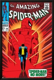 Marvel Comics Retro: The Amazing Spider-Man Comic Book Cover No.50, Spider-Man No More! Posters