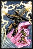 Uncanny X-Men: First Class No.6 Cover: Storm and Phoenix Prints by Paul Pelletier