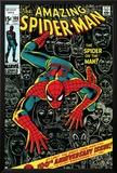 Marvel Comics Retro: The Amazing Spider-Man Comic Book Cover No.100, 100th Anniversary Issue Prints