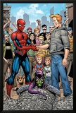Marvel Adventures Spider-Man No.34 Group: Spider-Man, Green Goblin, Flash Thompson Posters by Cory Hamscher