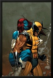 Wolverine No.62 Cover: Wolverine and Mystique Photo by Ron Garney