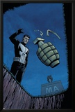 Punisher War Zone No.2 Cover: Punisher Posters by Steve Dillon