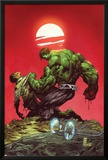 Incredible Hulk No.3: Hulk and Bruce Banner Fighting Posters by Marc Silvestri