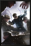 Captain America No.618 Cover: Winter Soldier Fighting Photo by Marko Djurdjevic