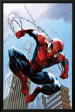 Ultimate Spider-Man No.156 Cover: Spider-Man Jumping Posters by Mark Bagley