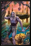Ka-Zar No.1: Ka-Zar and Zabu Walking in the Jungle Posters by Pascal Alixe