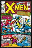 X-Men No.9 Cover: Lucifer Print by Jack Kirby