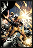 Power Man and Iron First No.1: Iron Fist and Power Man Fighting Prints by Wellinton Alves