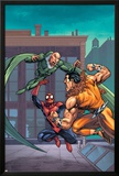 Marvel Adventures Spider-Man No.7 Cover: Spider-Man, Kraven The Hunter and Vulture Prints by Tony Daniel