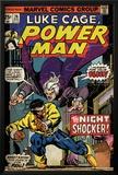Marvel Comics Retro: Luke Cage, Hero for Hire Comic Book Cover No.26, the Night Shocker! (aged) Print