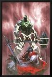 Fear Itself: Hulk vs. Dracula No.3 Cover: Hulk Standing Over a Fallen Dracula Prints by Gabriele DellOtto