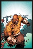 Thunderbolts No.168 Cover: Luke Cage Running Posters by Kev Walker