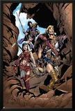 Thor Son Of Asgard No.2 Group: Thor, Sif and Balder Fighting Posters by Greg Tocchini