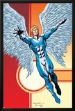 Excalibur No.11 Cover: Angel Prints by Aaron Lopresti