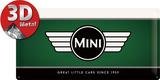 Mini - Logo Plaque en métal