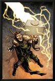 Loki No.1 Cover: Loki Standing Posters by Sebastian Fiumara