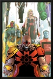 Exiles No.63 Cover: Hyperion, Colossus and Vision Prints by Mizuki Sakakibara