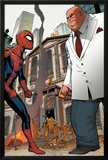 Marvel Adventures Spider-Man No.24: Spider-Man and Kingpin Posters by Rob Disalvo