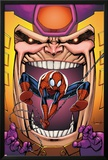 Marvel Adventures Spider-Man No.23 Cover: Spider-Man and M.O.D.O.K Print by Ale Garza