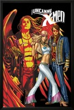 Uncanny X-Men No.497 Cover: Cyclops, Emma Frost and Angel Posters by Mike Choi