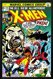 Marvel Comics Retro: The X-Men Comic Book Cover No.94, Colossus, Nightcrawler, Cyclops, Banshee Posters