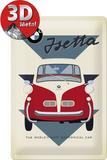BMW - Isetta Economical Car Plaque en métal