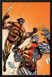 Wolverine First Class No.21 Cover: Colossus and Wolverine Posters by David Williams