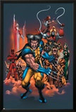 The Official Handbook Of The Marvel Universe: Wolverine 2004 Cover: Wolverine Posters by Salvador Larroca