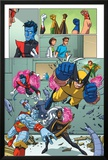 Uncanny X-Men: First Class Giant-Size Special No.1 Group: Wolverine Photo by Craig Rousseau