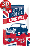 Mini - Goes a Long Way Tin Sign