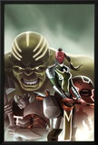 Fear Itself: The Worthy No.1 Cover: Red Skull, Juggernaut, Hulk, and Grey Gargoyle Prints by Jelena Djurdjevic