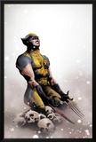 Wolverine No.14 Cover: Wolverine Kneeling Posters by Jae Lee