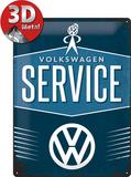 VW Service Tin Sign