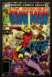 Marvel Comics Retro: The Invincible Iron Man Comic Book Cover No.127, Against the Super-Army! Posters