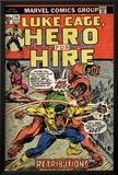 Marvel Comics Retro: Luke Cage, Hero for Hire Comic Book Cover No.14, Fighting Big Ben (aged) Photo