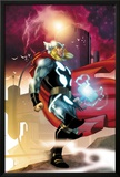Thor No.615 Cover: Thor Walking Print by Joe Quesada