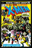 Marvel Comics Retro: The X-Men Comic Book Cover No.96, Fighting the Night Demon Posters
