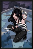 X-23 No.1 Cover: X-23 Kneeling Posters by Danni Luo