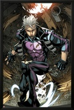 Ultimate Comics X-Men No.7: Quicksilver Crouching Posters by Carlo Barberi