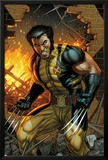 Wolverine No.304 Cover: Wolverine Standing Prints by Dale Keown