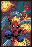 Friendly Neighbourhood Spider-Man No.1 Cover: Spider-Man Charging Photo by Mike Wieringo