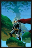 Astonishing Thor No.1 Cover: Thor Standing Poster by Esad Ribic